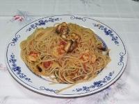 Spagetti Cozze e Gamberi, ricette ischia